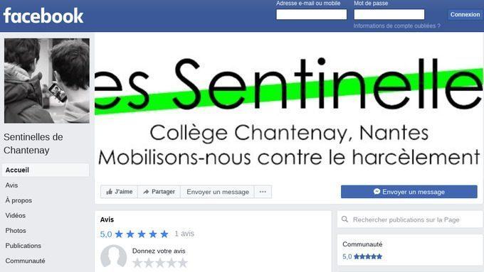 Les Sentinelles investissent Facebook